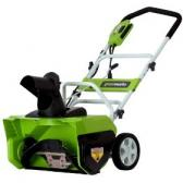 Greenworks 26032 20-Inch 12 Amp Electric Snow Thrower Review
